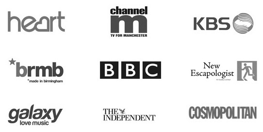 Media Appearances Logos No Header