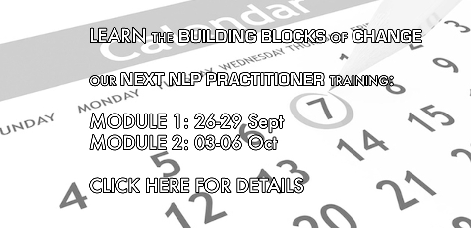 Upcoming NLP Practitioner Training